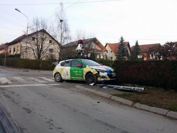 Google Maps has crashed