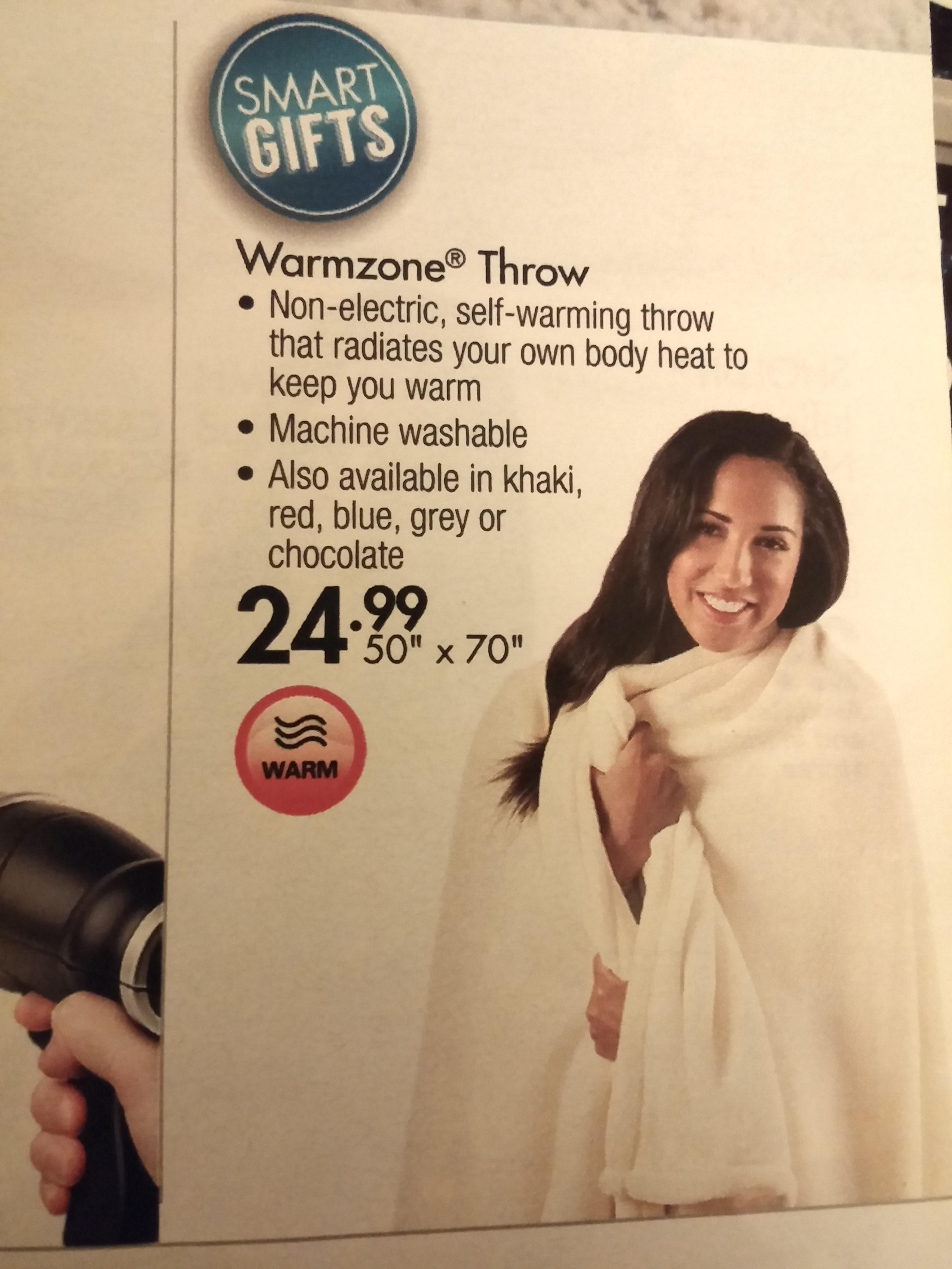 so its a normal blanket.
